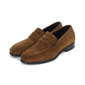 L200 Via Roma Suade loafer - Brown
