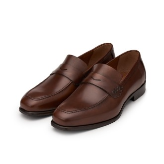 L204 Via Roma Loafer - Brown